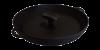 Сковорода-гриль чугунная 340х40 мм с прессом