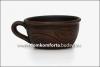 Чашка кофейная глиняная  0,150 л. (катанка)