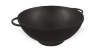 Pan (cauldron) cast iron wok 3.5 l with a lid-pan