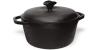 Cast iron pot 2 l with lid