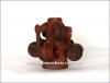 Набор глиняний резной кувшин и 6 чашек арт. 503