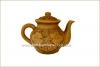 Чайник глиняный 1 л с лепкой глазурь арт. 314