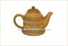 Чайник глиняный резной 800 мл глазурь арт. 322