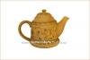Чайник глиняный рисованный 800 мл глазурь арт. 321