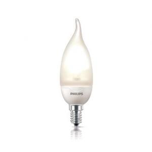 Philips Энергосберегающая лампа в форме свечи Softone