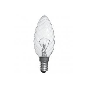 ELECTRUM Лампа свеча витая 40W E14
