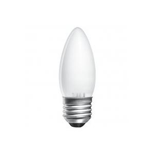 ELECTRUM Лампа свеча 25W E27 мат.