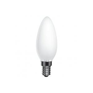 ELECTRUM Лампа свеча 25W E14 мат.