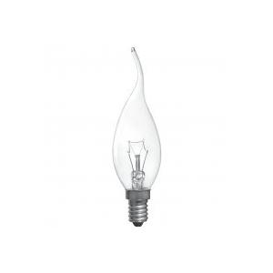 ELECTRUM Лампа свеча на ветру 40W E14