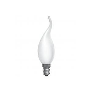 ELECTRUM Лампа свеча на ветру 25W Е14 мат.
