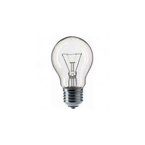 Pila Лампа накаливания Pila Е27 60W A55 прозрачная