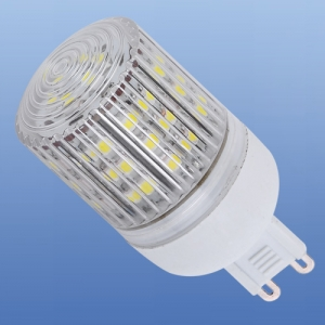 brille LED G9 220V 48pcs WW 3528 SMD