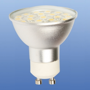 brille LED GU10 230V 21pcs with cover CW 5050 SMD