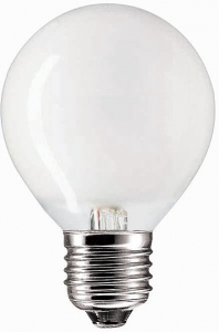Philips Лампа накаливания Krypton 60W E27 230V P45 WH 1CT
