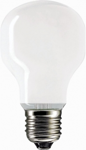 Philips Softone 40W E27 230V T55 WH 1CT