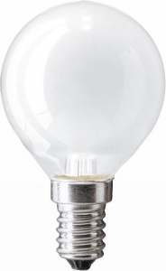 Philips лампа накаливания Standard 40W E14 230V P45 FR 2CT