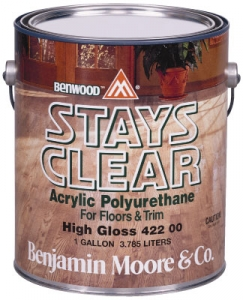 Benjamin Moore Stays Clear® Acrylic Polyurethane High Gloss 422