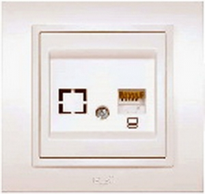 EL-BI Розетка компьютерная ZENA 500010300229