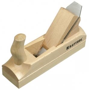 KRAFTOOL Рубанок деревянный , с двойным ножом