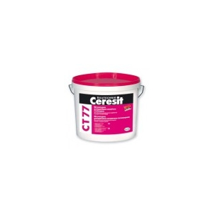 Ceresit Декоративно-мозаичная полимерная штукатурка Ceresit CT 77