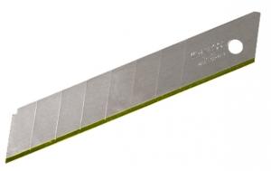 KRAFTOOL Лезвие  сегментированное 14 сегм, покр нитрид титана, 18х110х0,5мм, 5шт