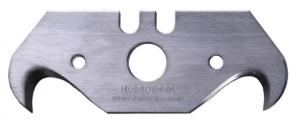 KRAFTOOL Лезвие  крюковидное, тип S23, 50,7х18,7х0,5мм, 5шт.