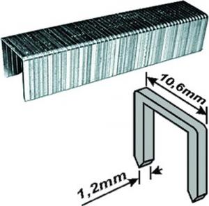FIT Скобы для степлера  широкие прямоугольные 500 шт., 6 мм