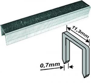 FIT Скобы для степлера  узкие прямоугольные 1000 шт., 8 мм