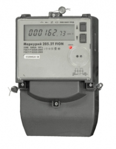 Меркурий Однофазныe многотарифные  205.2T FION
