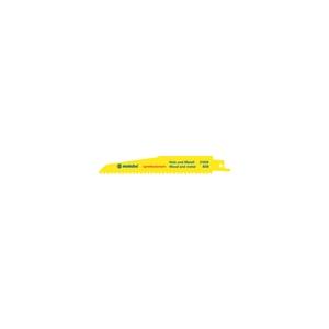 Metabo 5 полотен сабельной пилы, H+M, profes., 150x 1,6 мм
