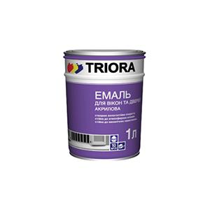 TRIORA Акриловая эмаль для окон и дверей