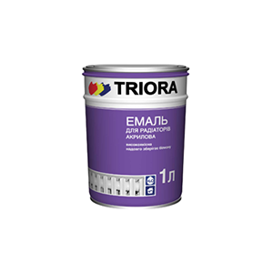 TRIORA Акриловая эмаль для радиаторов