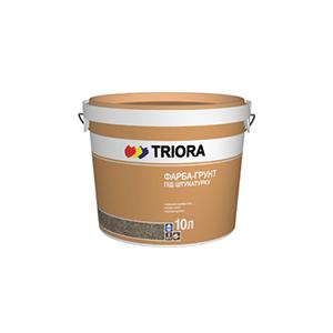 TRIORA Краска-грунт под штукатурку