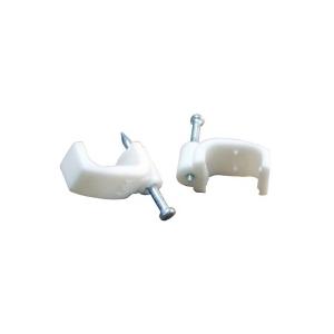 АсКо Пластиковая скоба плоская 6 мм