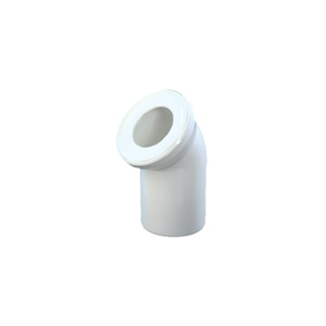 ЕВРОПЛАСТ Колено АБУ (WC) подключение к унитазу 110/180(эксцентрентр)