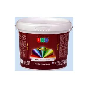 UNO Краска акриловая UNO BASE для тонирования в насыщенные цвета.
