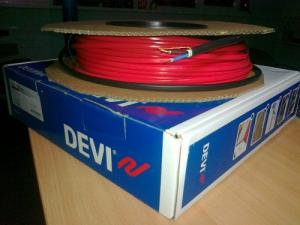 Devi Нагревательный кабель двухжильный DTIP-18 37 м