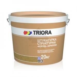 TRIORA Акриловая структурная штукатурка «Короед»