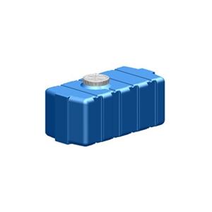 УкрХимПласт Емкость горизонтальная квадратная SG-300