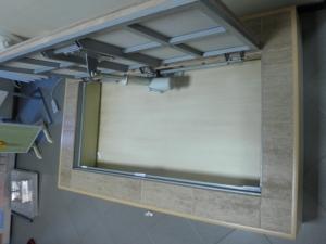 VS Group Люк ревизионный невидимка напольный с электроприводом на ДУ