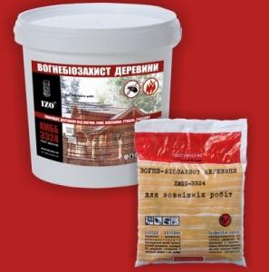 IZO® Пропитка огнезащитная для древесины ХМББ-3324 IZO® (сухие соли)