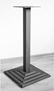 Мир мебели Основа для стола Рона SQ 60 (опора для стола, подстолье, база для стола, основание для стола)