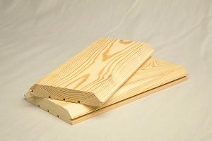 Имитация бруса лиственница сорт А  135х22х4000мм