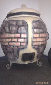 Тандыр из шамотной глины №3-У (утеплённый)