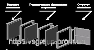 VS Group Люк невидимка под плитку ревизионный Е-7 300х400 мм