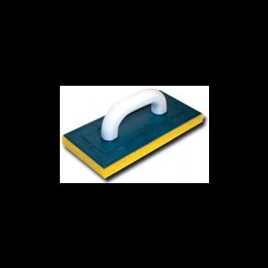 Терка пластиковая с поролоновой подкладкой для работ сплиткой (артикул 3073) 130х270 мм