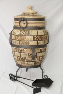 Тандыр из шамотной глины №2-К (ковка).