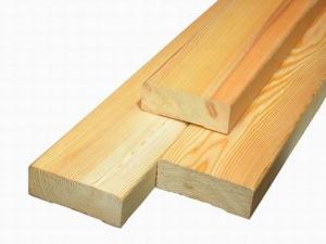 Доска обрезная сосна 40мм L=4-4,5м