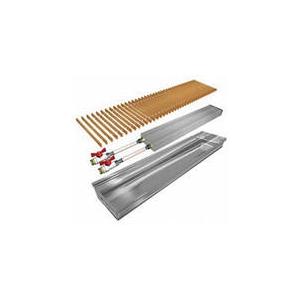 POLVAX KE Внутрипольные конвекторы с естественной конвекцией (без вентилятора)