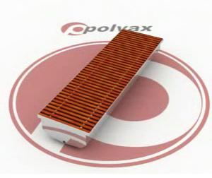 POLVAX KD Внутрипольные конвекторы для влажных помещений, бассейнов, теплиц